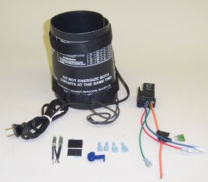 Nitrous Bottle Heater - Pressure Controlled (12v only)