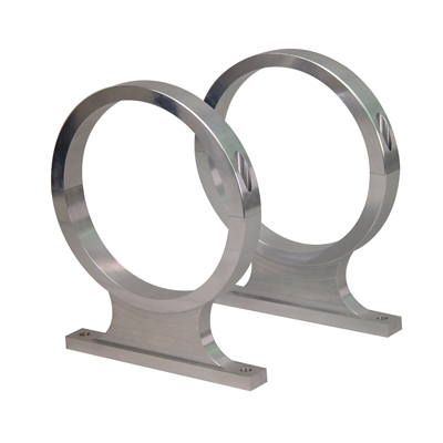 10 & 15lb Bottle Bracket Set -Billet Aluminum