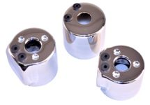 RACESTAR (Large) FUEL SOLENOID SHELL - CHROME